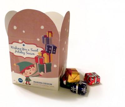 Holiday Promotion Custom Designed Box