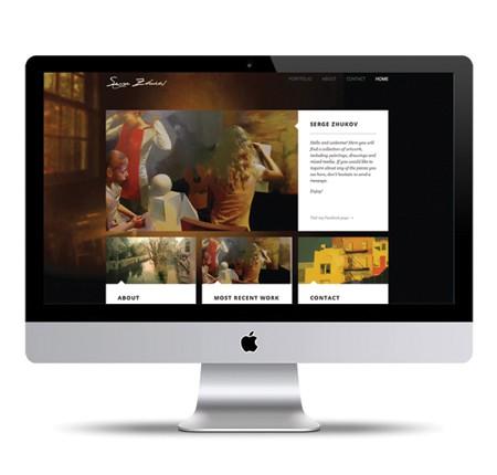 Serge Zhukov Portfolio Website