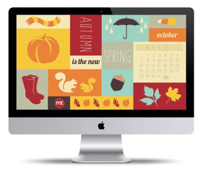 Fall Desktop Wallpaper Design