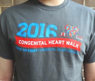 Congenital Heart Walk T-shirt