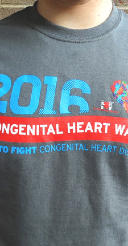 Congenital Heart Walk T-Shirt