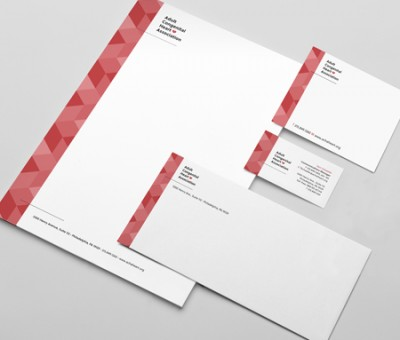 Modern stationery package