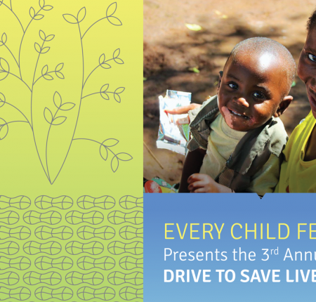 Every Child Fed 'Drive to Save Lives' Event Branding