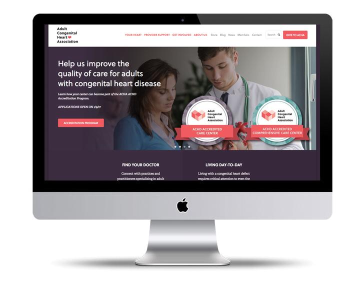ACHA Accreditation logos on the web