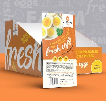 Sauder's Eggs Packaging